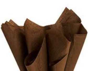 Tissue Paper -120 Sheets Premium CHOCOLATE BROWN
