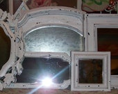 RESERVED KELLYRUSSO 5 Chippy Black Vintage Mirrors