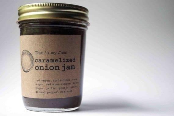 That's my Jam Caramelized Onion Jam 8oz jar