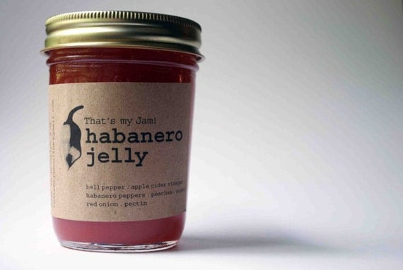 That's my Jam Habanero Jelly 8oz jar