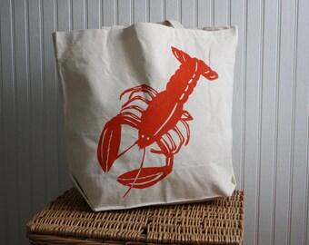Lobster Tote Bag