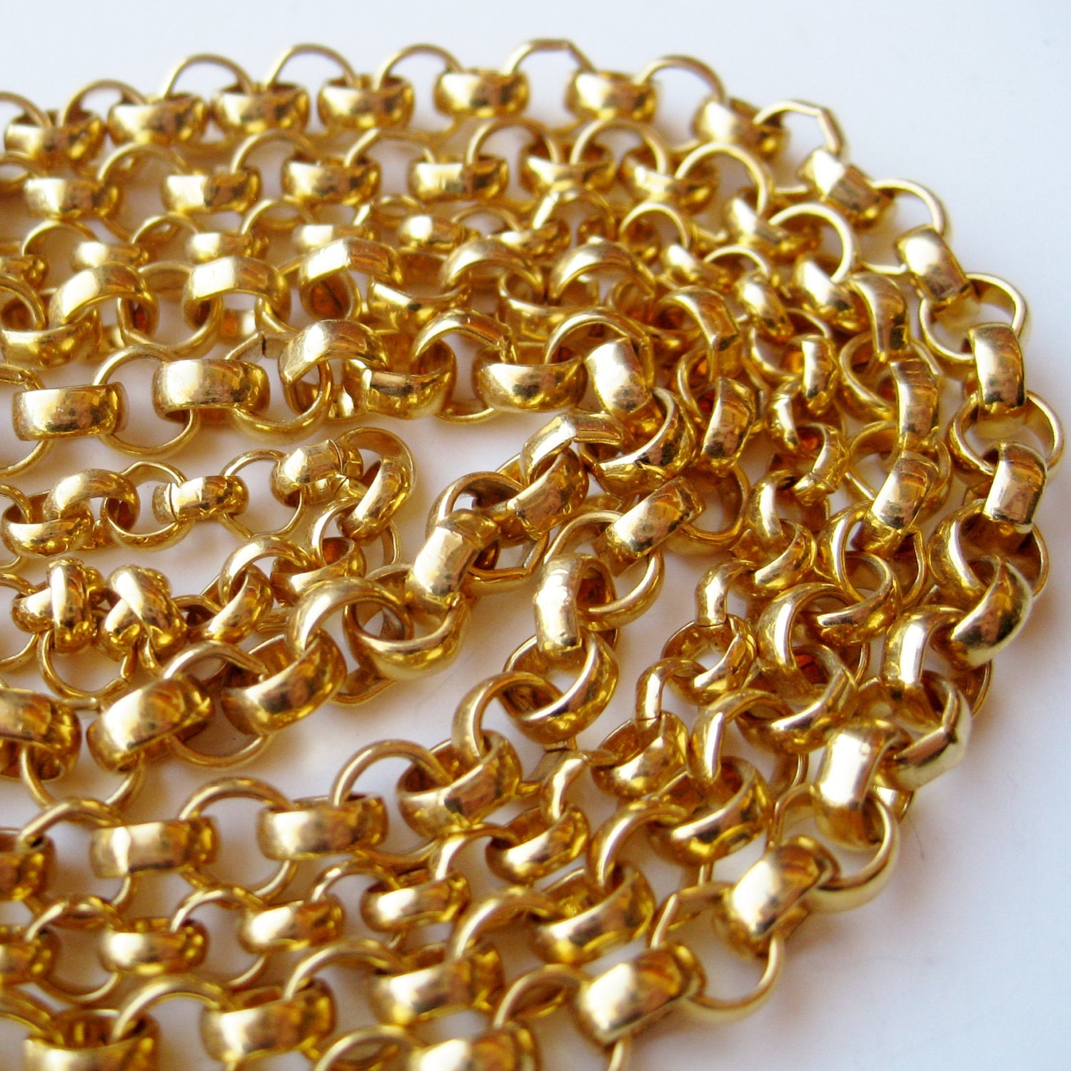 70s gold necklace