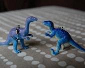 Dinosaur Dance Earrings Dinosaur Earrings Dinosaur jewelry