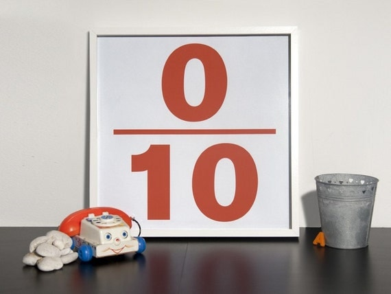The 0 10 Poster