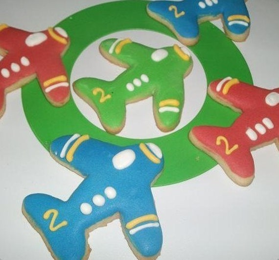 Items Similar To Airplane Cookie Favors- 2 DOZEN On Etsy