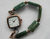 Watch African Aventurine and Copper