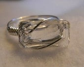 Swarovski Clear Crystal Ring