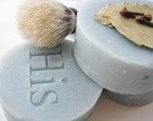 Spiced Bay Handmade Shaving Soap for Him 3.75 oz