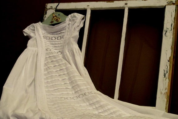 Victorian Christening Gown - RESERVED FOR SARAH