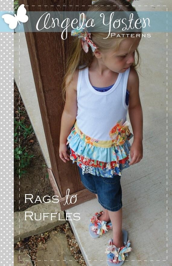 Rags to Ruffles Pattern - Printed Version