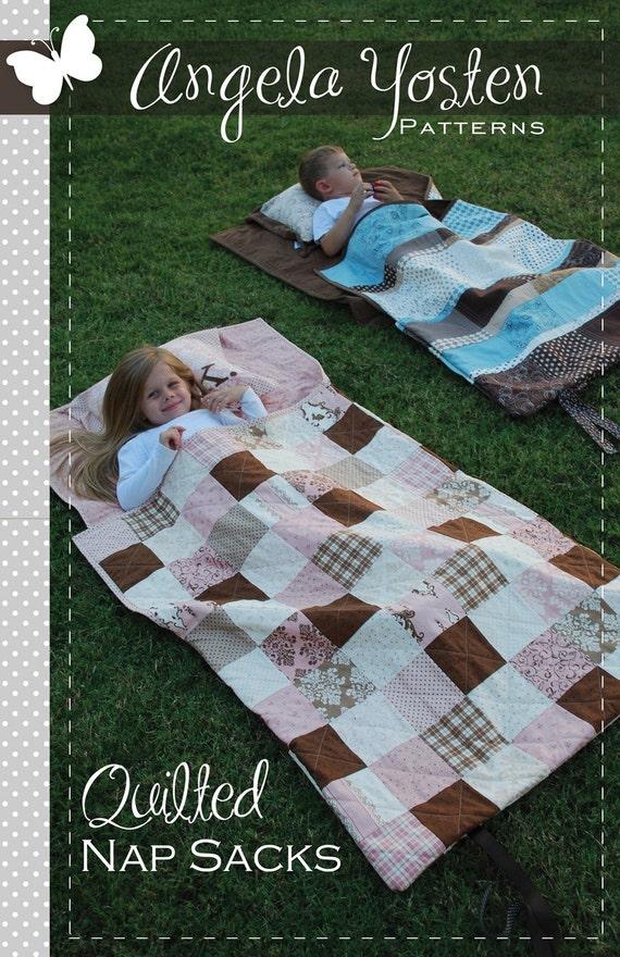 Quilted Nap Sack Pattern - PDF version