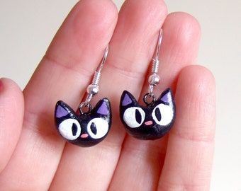 jiji from kiki's delivery service, clay earrings