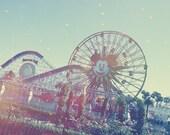 Disney California Adventure Paradise Peir Fun Wheel 5x7 Photo Art Print