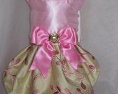 Pretty in Pink Satin Dress