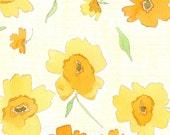 Watercolor Painting Print Daffodils