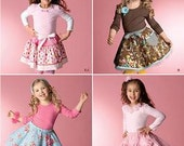 Simplicity 2356  Child's Skirts, Slips & Accessories