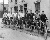 Vintage Bicycle Print  - 8x10 Print