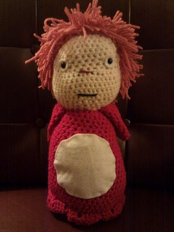 Crochet Ponyo Doll