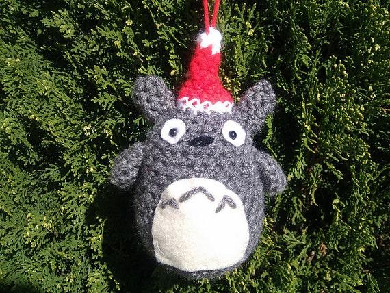 Totoro Crochet Ornament