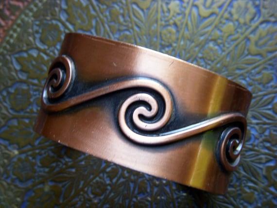 Bell Copper Bracelet