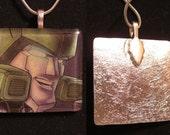 Springer - Transformers enamel pendant