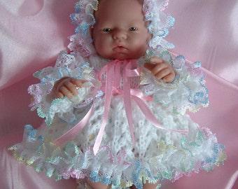 Knitting pattern for 10 inch dolls, Emmy, Berenguer