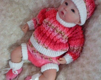 Knitting pattern for 14 - 18 inch dolls