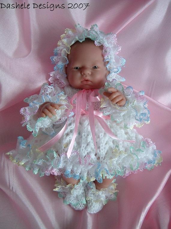 Knitting Pattern For 10 Inch Dolls Emmy Berenguer