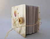 Sunshine garden Journal Book -Handmade paper, OOAK