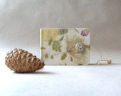 Mini Handmade journal - Handmade paper OOAK