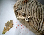 Woodland creature-Squirrel ,Native wall art ,wood carving, OOAK