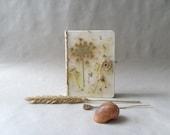 Handmade journal, handmade paper, OOAK