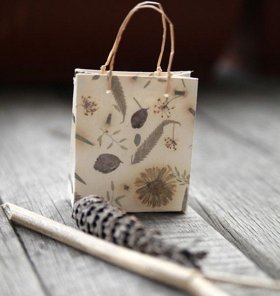 Love nature-handmade paper gift bag