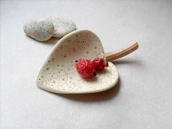 Mini leaf bowl , home decor