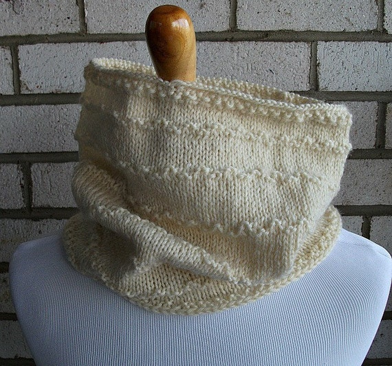 Ship Shape Fishermen Cowl  Warm Gift under 30 dollars