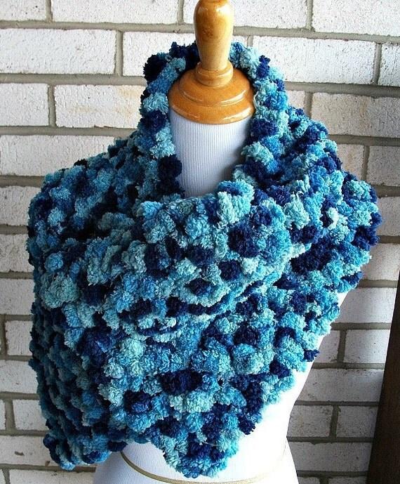 Bluebird Scarf Shawl Gift for Her under 50 dollars