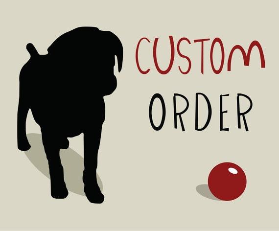 Custom Order for Rew