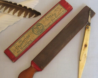 19th Century Strop and Case