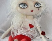 "Doll - Cloth Art Rag Doll - ""Valentina"""