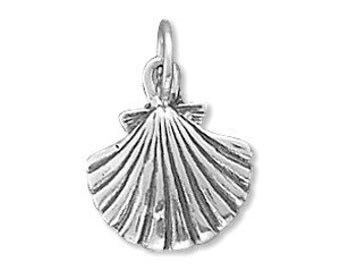 Clam Charm, Sterling Silver Nr 72943