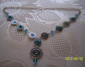 Southwest Concho Design Necklace Summer Clearance Sale 30% off