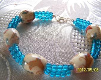 Beaded Bracelet Ceramic Bead Bracelet Clearance