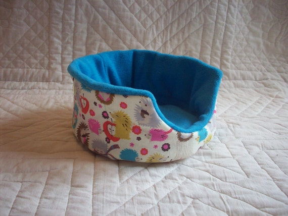 RESERVED for KL Hedgehog Meadow Cuddle Cup for Guinea Pig Hedgehog Rat Small Animals