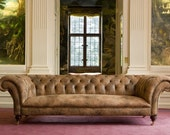 Chesterfield Sofa 3 Seater Chilham Victorian Style