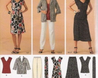 Simplicity 3506 Easy to Sew Wardrobe Pattern SZ 10-18