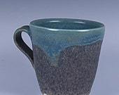 Gray and Blue-green Mug