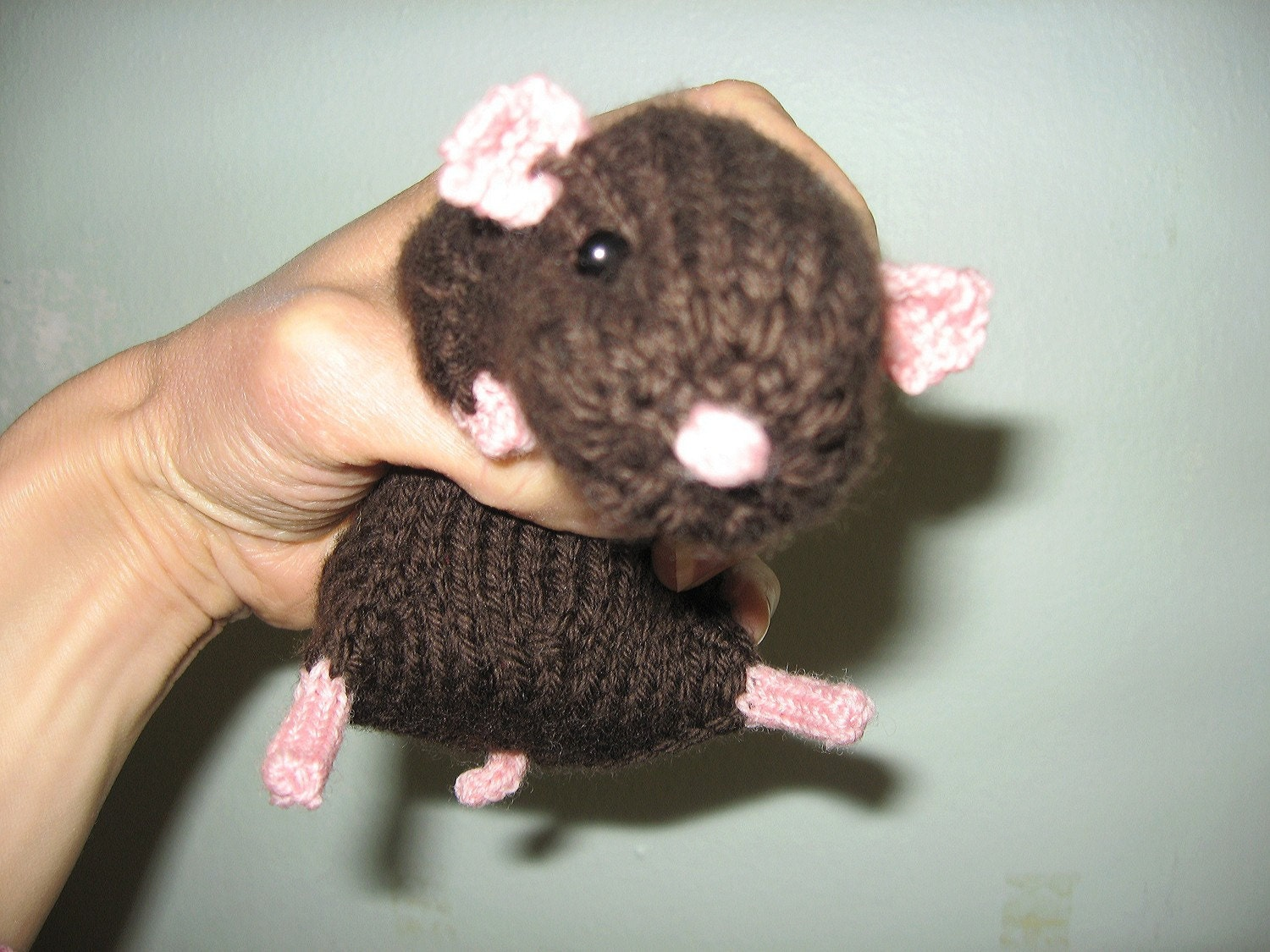 Knitting Pattern For Hamster Jumper : Realistic Hamster Knitting Pattern