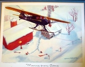 1940s Taylorcraft BC12-D 2 Place Service Plane Small Aircraft