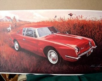 1963 Studebaker Avanti Fiberglass 72 Speed Records