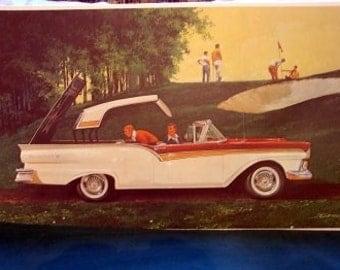 1957 Ford Skyliner Hideaway Hardtop Classic Car